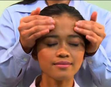 teknik urut kepala dan bahu
