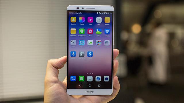 Huawei Ascend Mate7 4100maH battery capacity