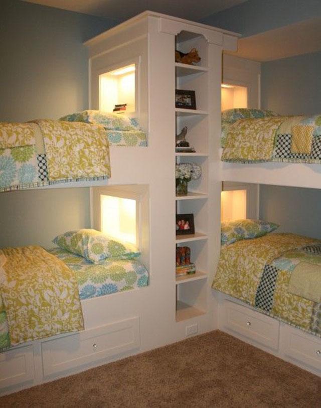 15 Idea Hias Bilik Tidur Anak Guna Katil Double Decker