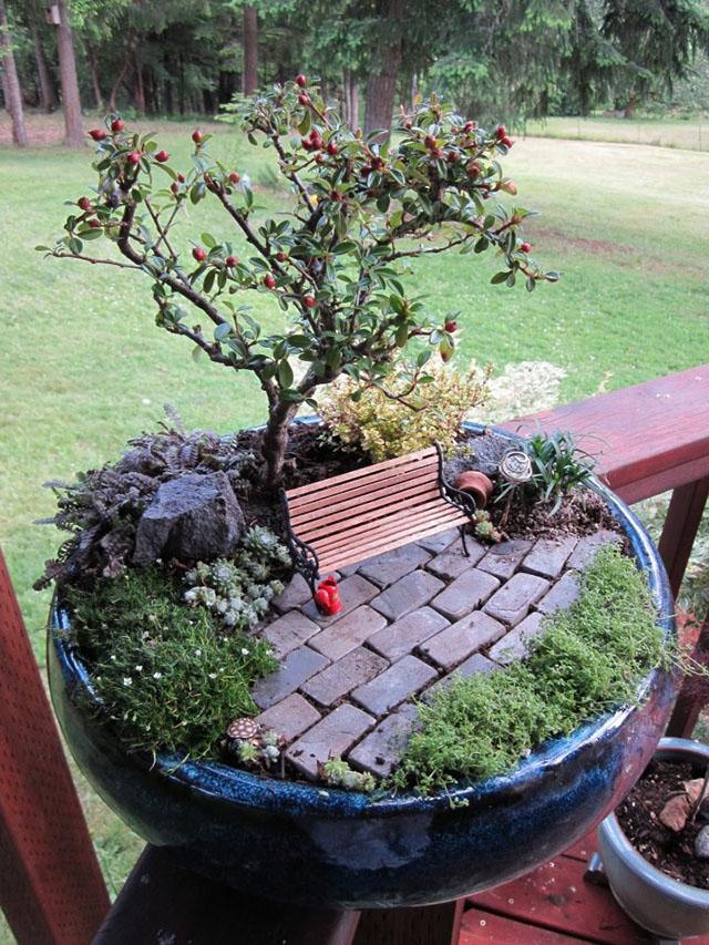 Jangan Buang Pasu Lama Boleh Buat Taman Mini Hias Rumah Anda