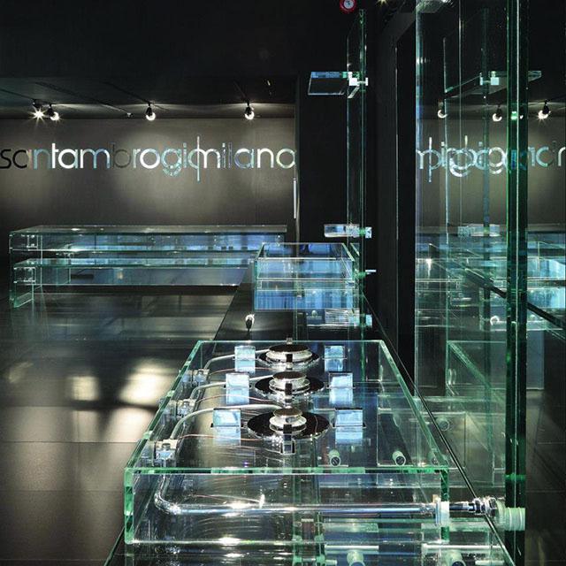 #13 Glass house kitchen