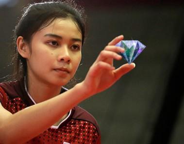 Pemain Sepak Takraw Wanita Thailand