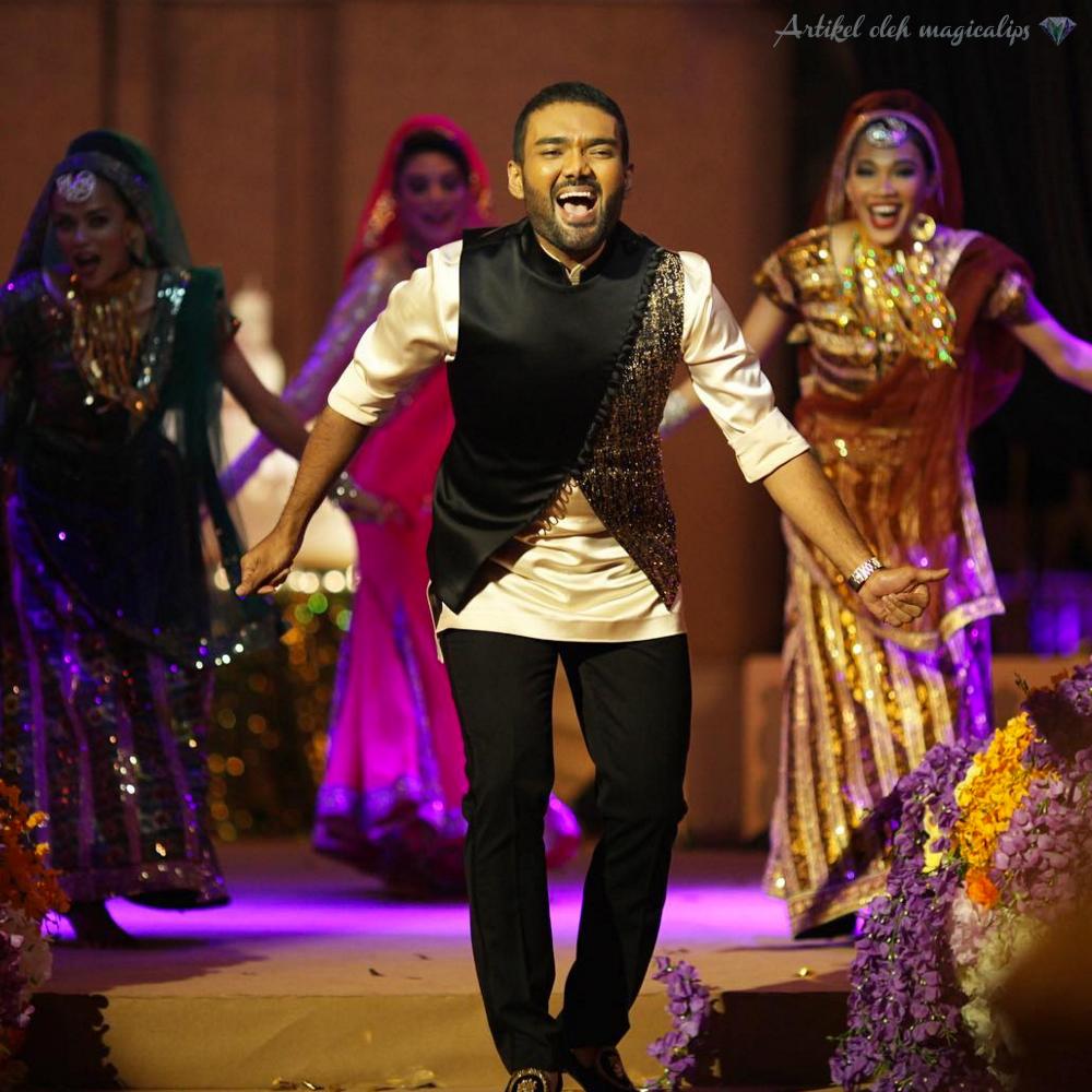 Tarian-Bollywood-Rizman-Meriahkan-Majlis-Resepsi-Ruzaini-3