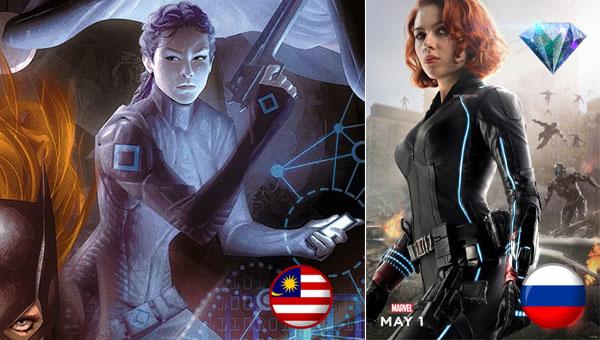 watak malaysia dc comic
