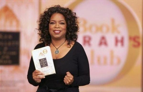 Sebanyak 70 buah buku dibaca oleh Oprah dan Kelab Buku Oprah selama 15 tahun bersiaran