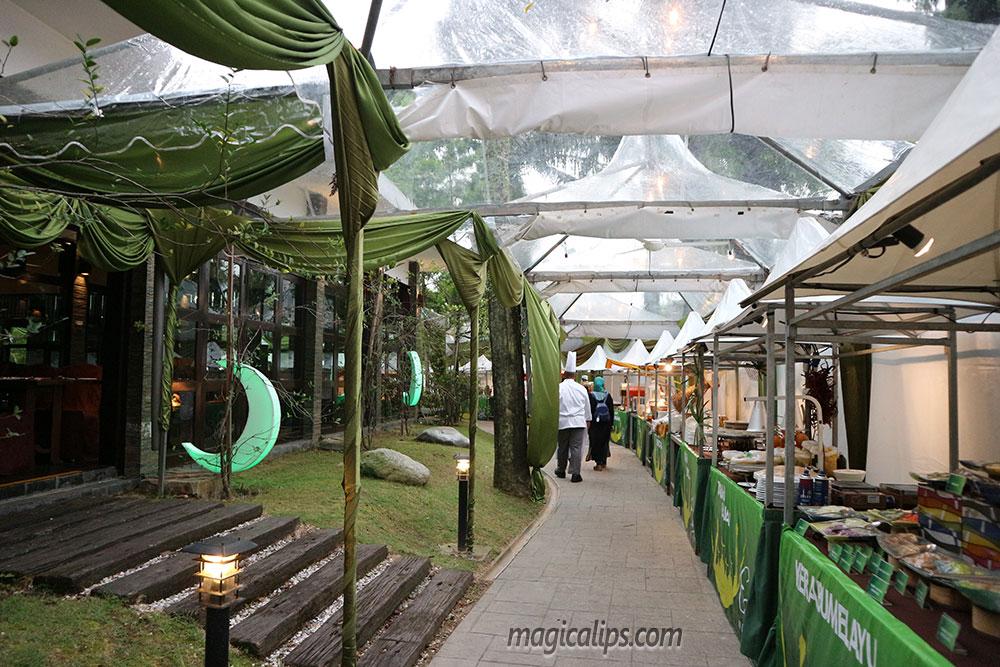 Berbuka Puasa Dalam Taman, Bufet Ramadhan 2017 Restoran Verandah