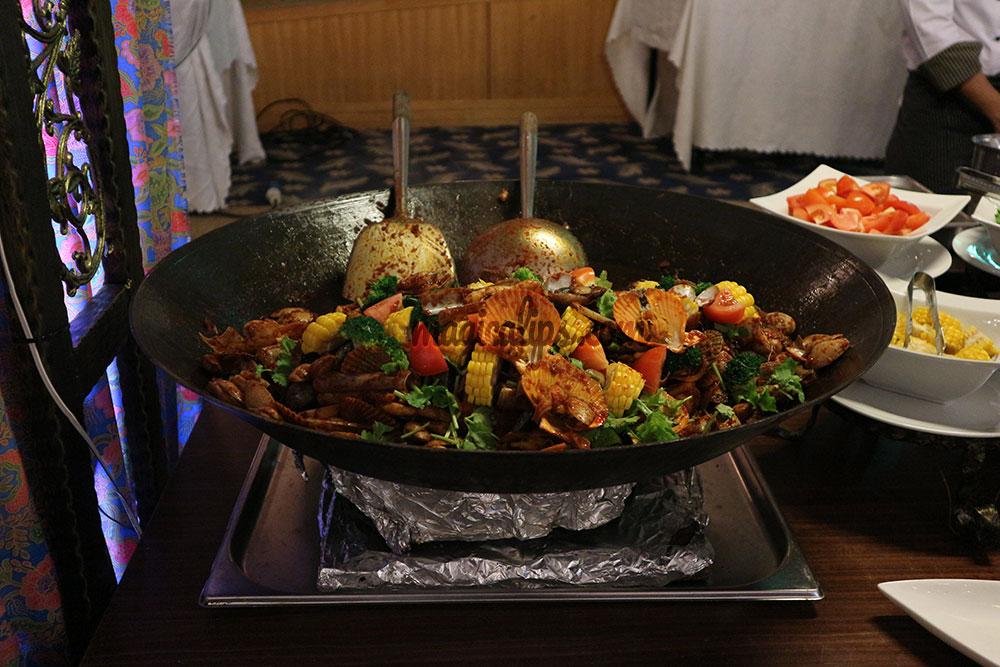 Bufet ramadhan dewan perdana felda