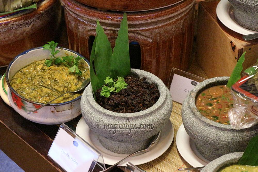 aneka sambal bufet ramadhan dewan perdana felda d saji