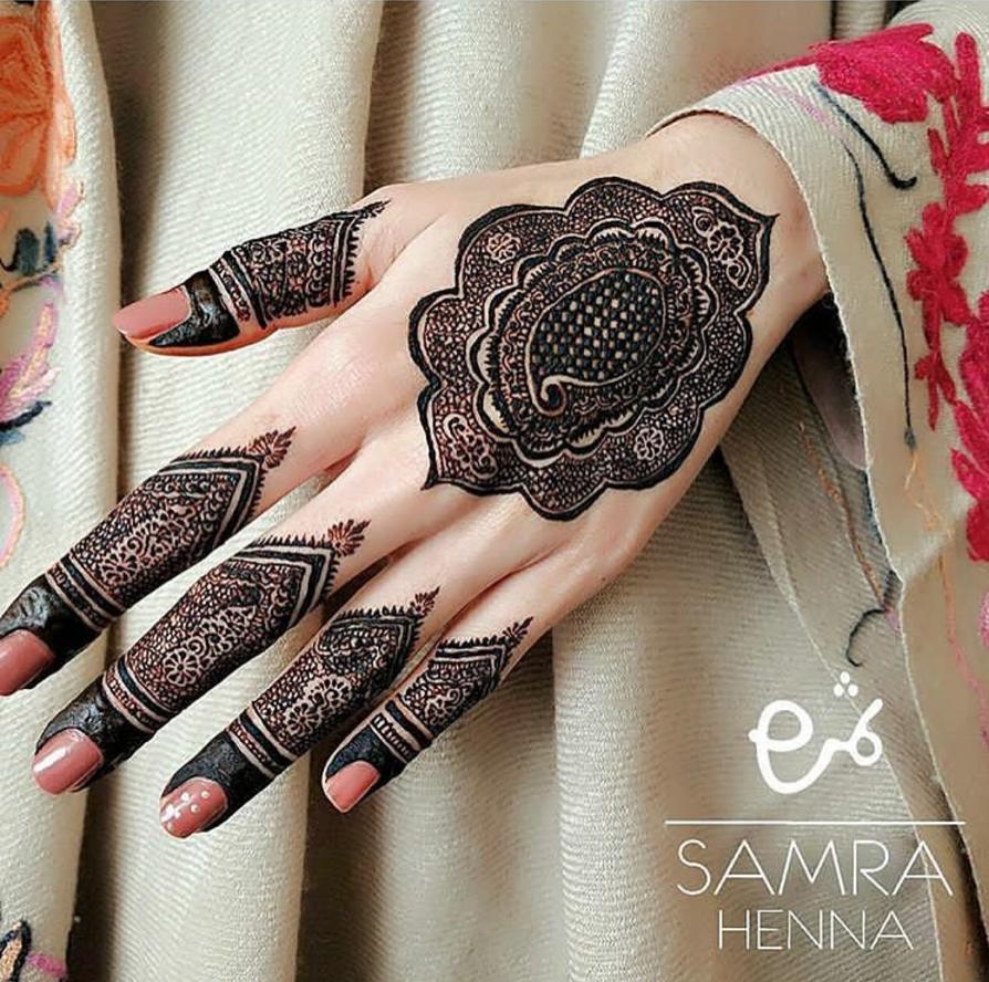 corak henna paling cantik