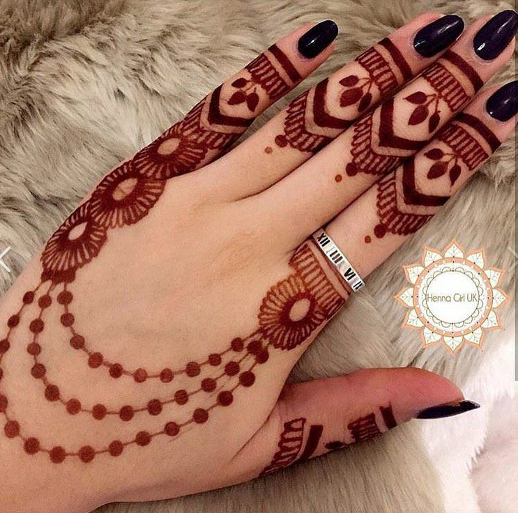 corak inai naina henna