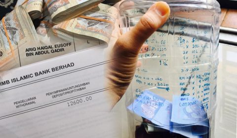 Taktik Wanita Simpan RM12600 Guna Duit RM20 Selama Setahun Untuk Anak