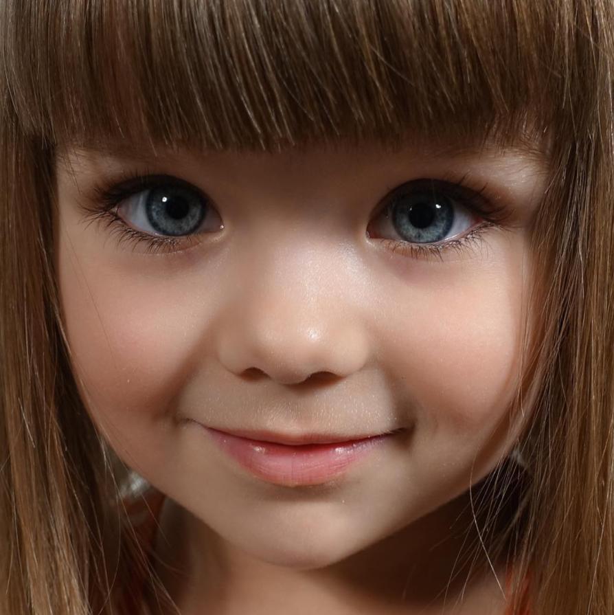 instagram kanak rusia anastasia tercantik di dunia 4